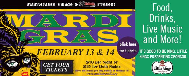 Mardi Gras at MainStrasse Village