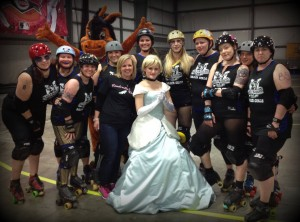 Cinderella with skaters