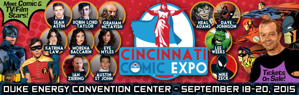 Cincinnati Comic Expo 2015