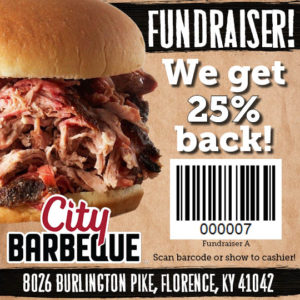 BBRG Host Blood Drive at City BBQ @ City BBQ