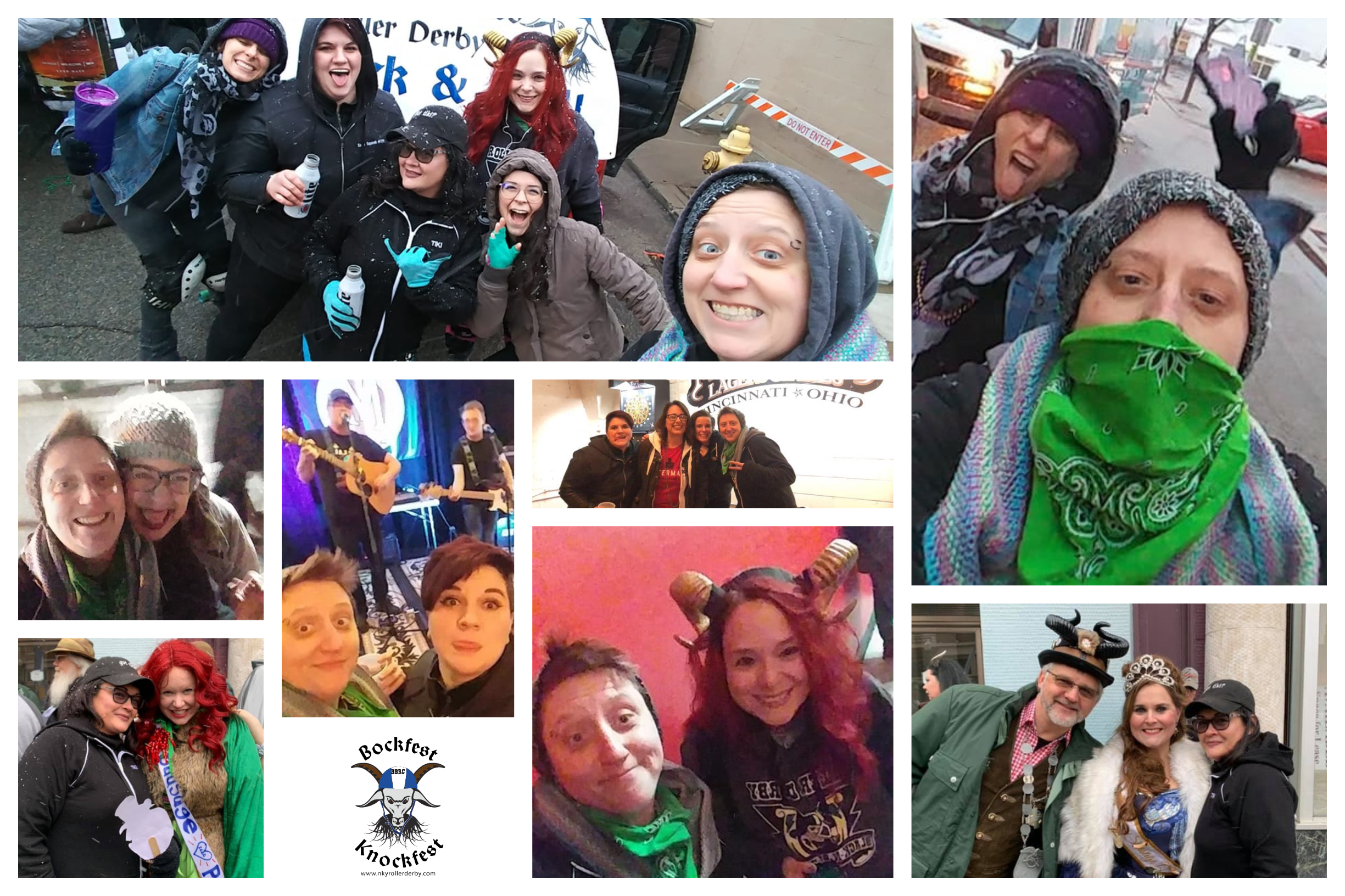 2020 Bockfest Parade Collage